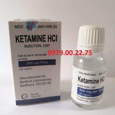 Thuốc mê Ketamin HCL dạng nước