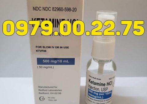thuốc mê Ketamin HCL dạng xịt