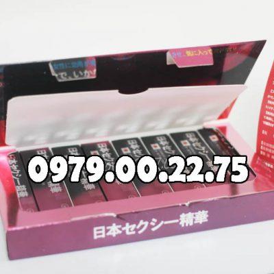 Thuốc kích dục nữ dạng nước Nhật Tím Made in Japan chính hãng