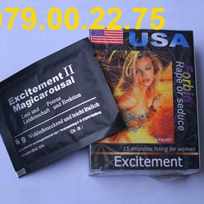 Thuốc kích dục nữ dạng bột excitement II cao cấp