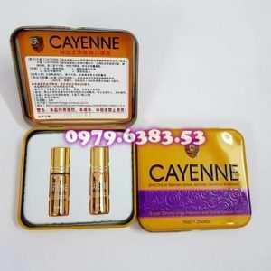 Thuốc kích dục nữ dạng nước Cayenne cao cấp, giá rẻ