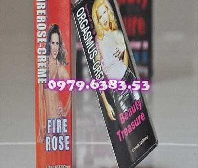 Thuốc kích dục nữ dạng nước Firerose-creme