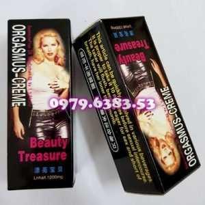 Thuốc kích dục nữ dạng nước ORGASMUS CREME chất lượng