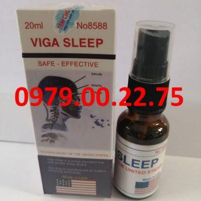Viga Sleep 20ml thuốc mê của Mỹ giá bao nhiêu? Có tác dụng gì?