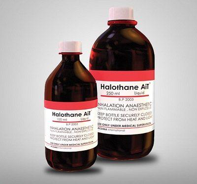 Thuốc mê ete halothane – Những điều thú vị mà bạn có thể chưa biết