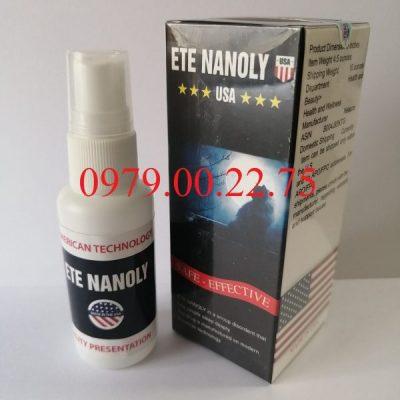 Thuốc ngủ dạng xịt Ete Nanoly