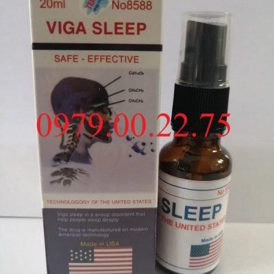 Thuốc ngủ dạng xịt Viga Sleep của Mỹ