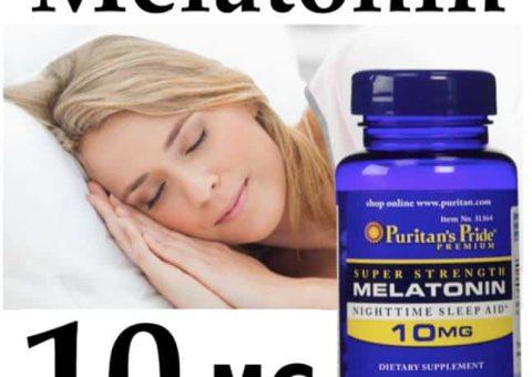 Thuốc ngủ melatonin 5 – 10mg là gì ? Giá thuốc melatonin 5 – 10mg?
