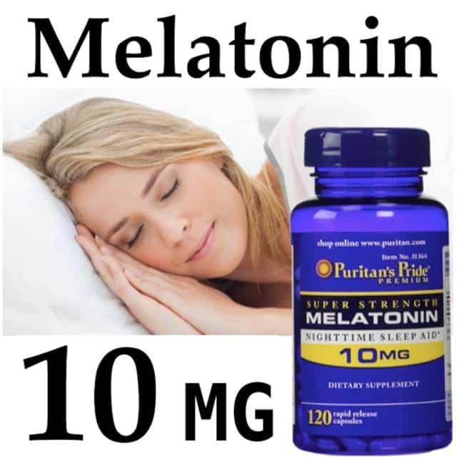 Thuốc ngủ melatonin