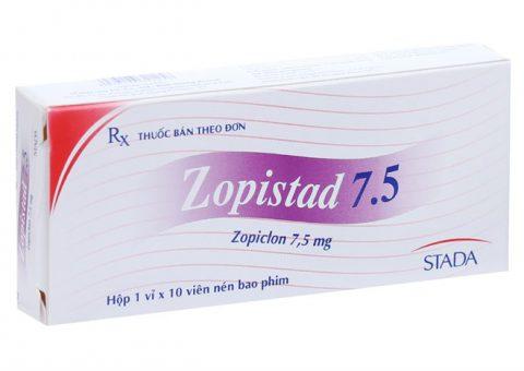Thuốc ngủ zopistad 7.5 giá bao nhiêu ? Mua ở đâu uy tín tại TPHCM ?