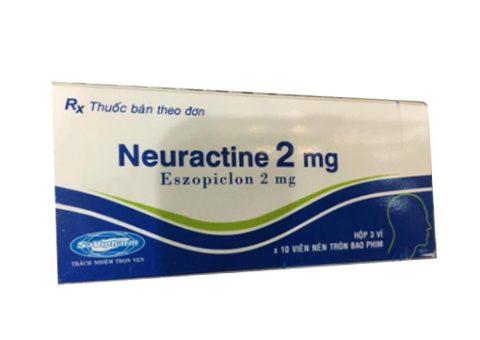 Thuốc ngủ neuractine 2mg điều trị hiệu quả cho người mất ngủ