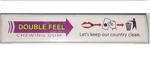 Kẹo cao su singum kích dục nữ Double Feel