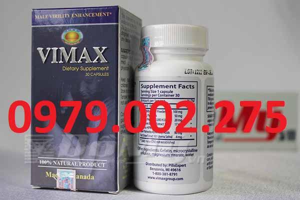 thực phẩm chức năng hỗ trợ sinh lý nam Vimax