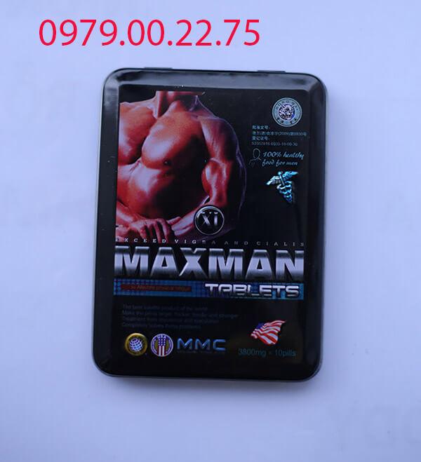 Thuốc tăng cường sinh lý nam Maxman