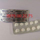 Thuốc ngủ dạng vỉ Seduxen 5mg