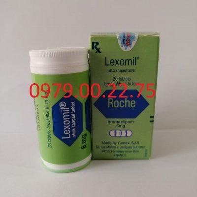 Thuốc ngủ lexomil – Thuốc ngủ dạng viên chính hãng giá rẻ