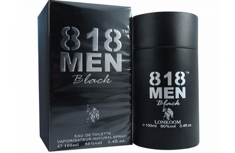 Nước hoa kích dục nữ cao cấp 818 Men Black