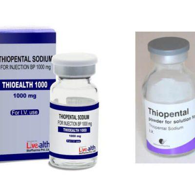 Thuốc Thiopental Là Loại Gì? Thành Phần, Liều Dùng, Tác Dụng