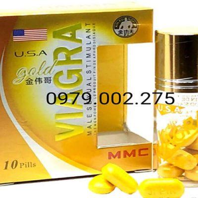 Thuốc Cường Dương Viagra Gold USA Cao Cấp