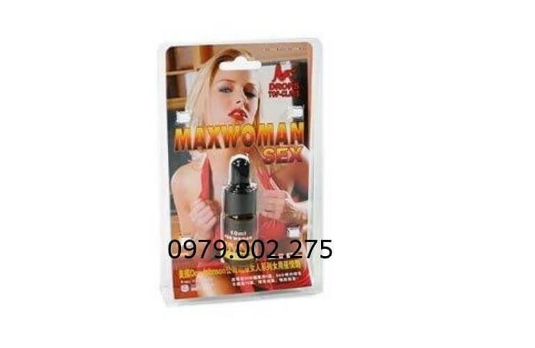 thuốc kích dục nữ Max Woman SEX