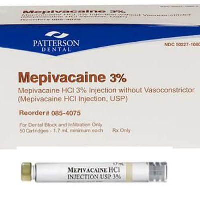 Thuốc Mepivacaine Là Gì? Thành Phần Công Dụng Lưu Ý Dùng