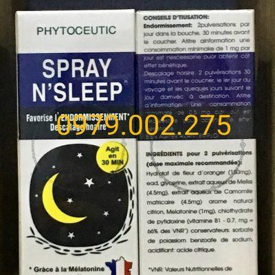 Thuốc Ngủ Spray N'Sleep Cực Mạnh Hiệu Quả Ngay Giá Tốt
