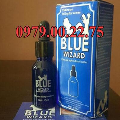 Thuốc Kích Dục Nữ Blue Wizard Cực Mạnh Kích Thích Cao Trào